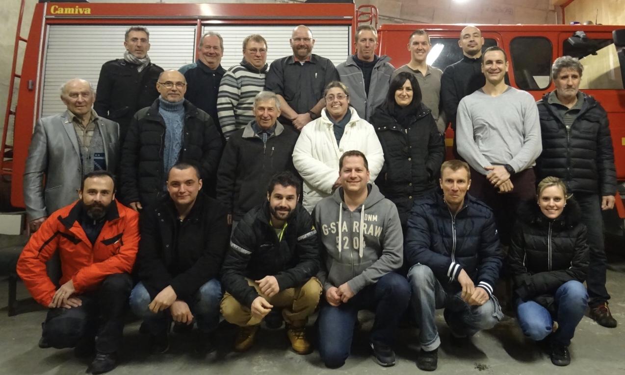 photo ancien pompiers