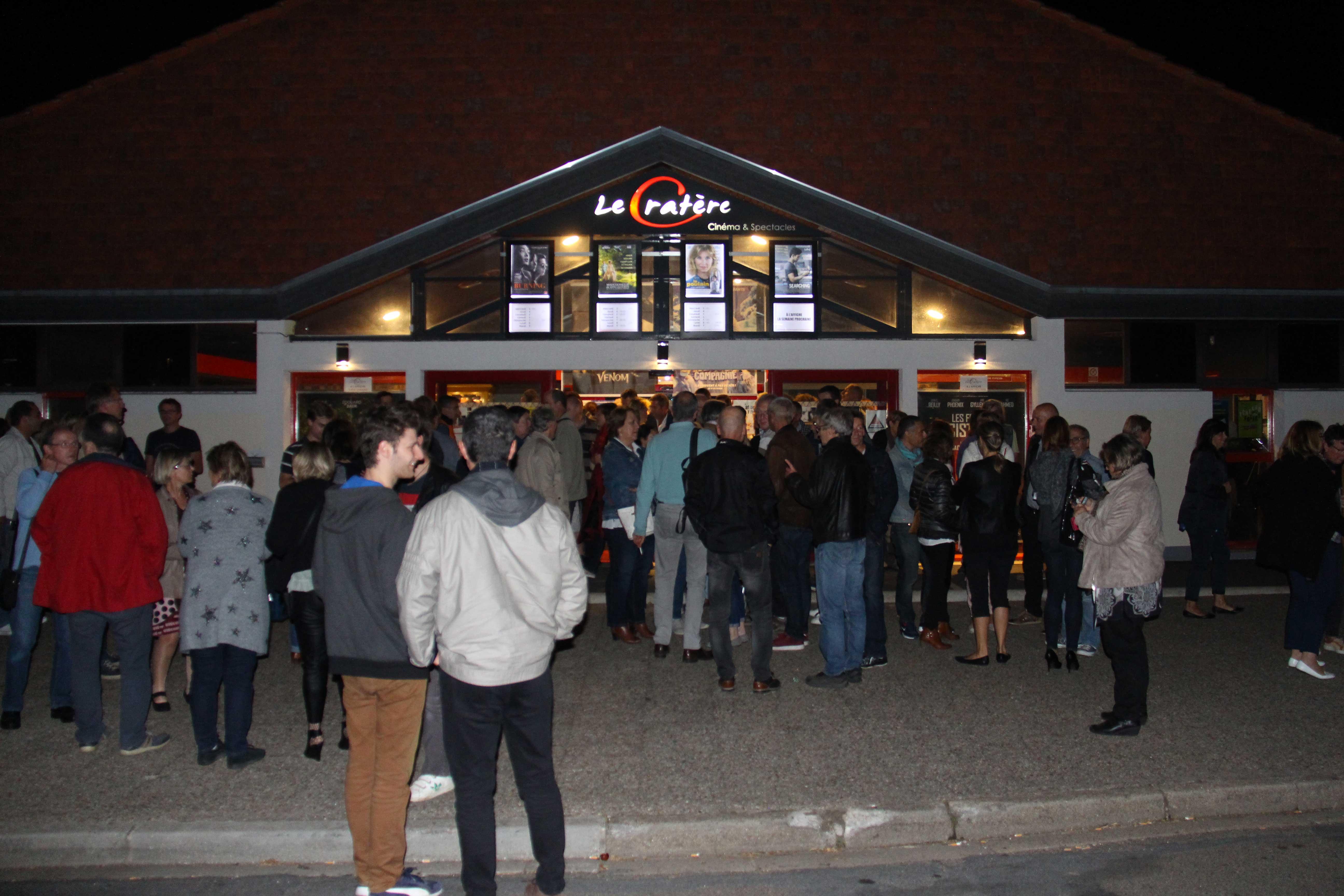 Le Cratère : cinéma et salle de spectacles - Commune de Saint