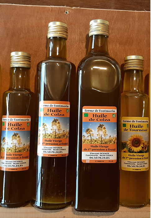 Fontmorin - Huiles