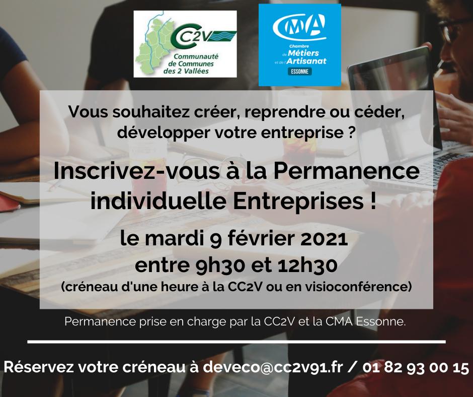 CC2V_Permanence Entreprises Création, développement, reprise BD FB_09 02 2021.png