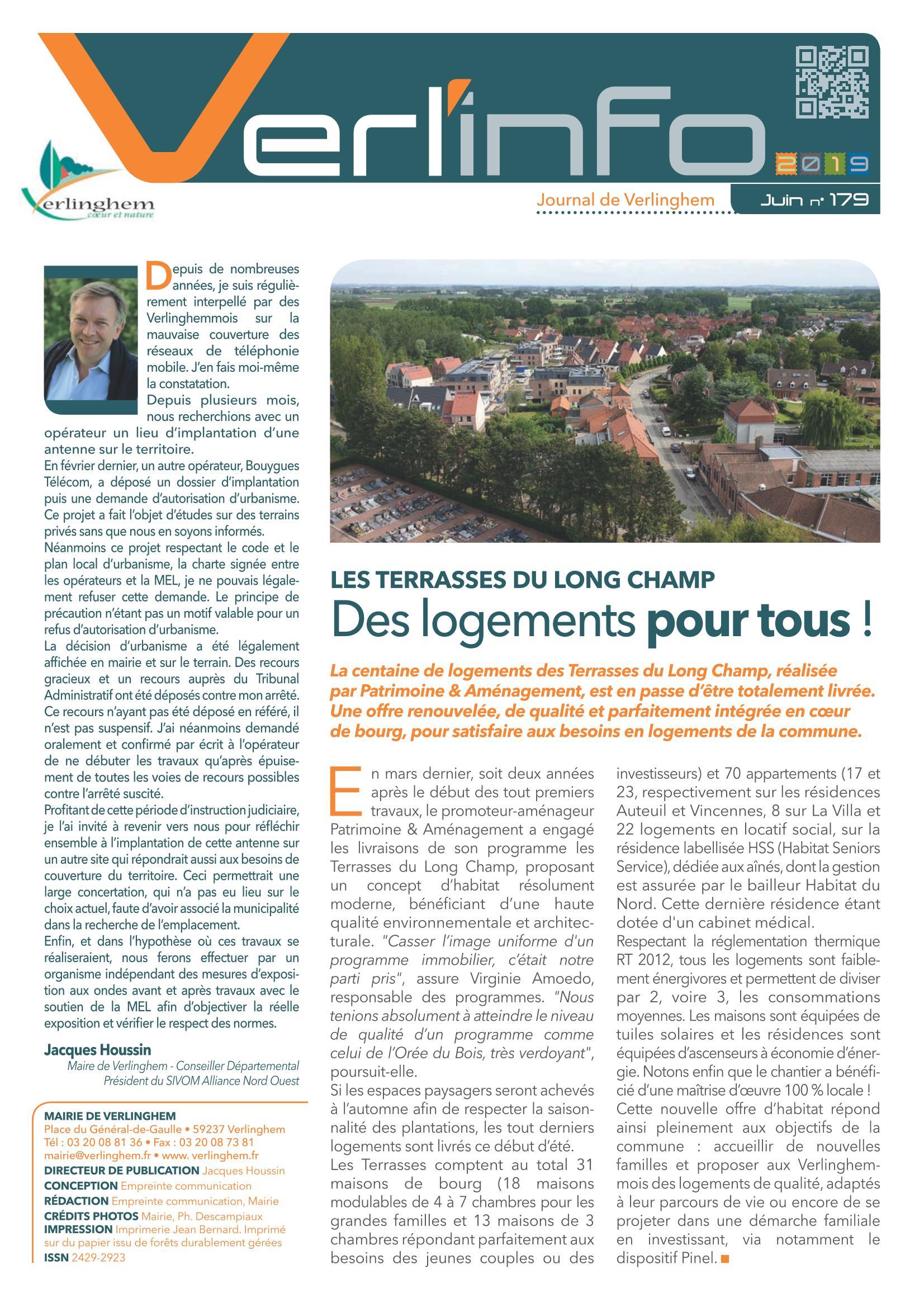 Verl'Info n° 179 juin 2019