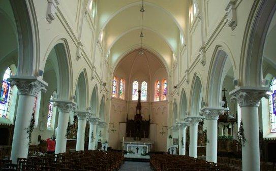 Eglise St-Chrysole intérieur