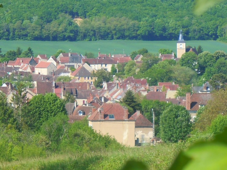 vue d ensemble du village colza