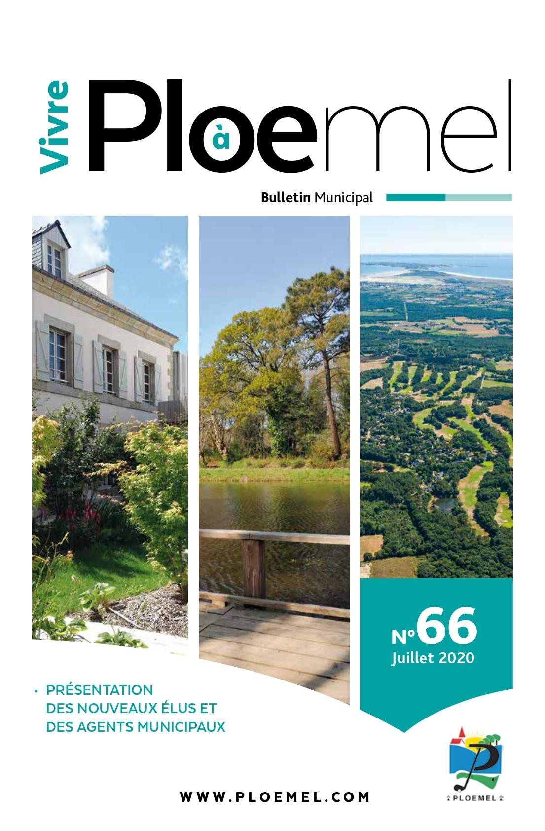 Magazine Vivre à Ploemel, juillet 2020