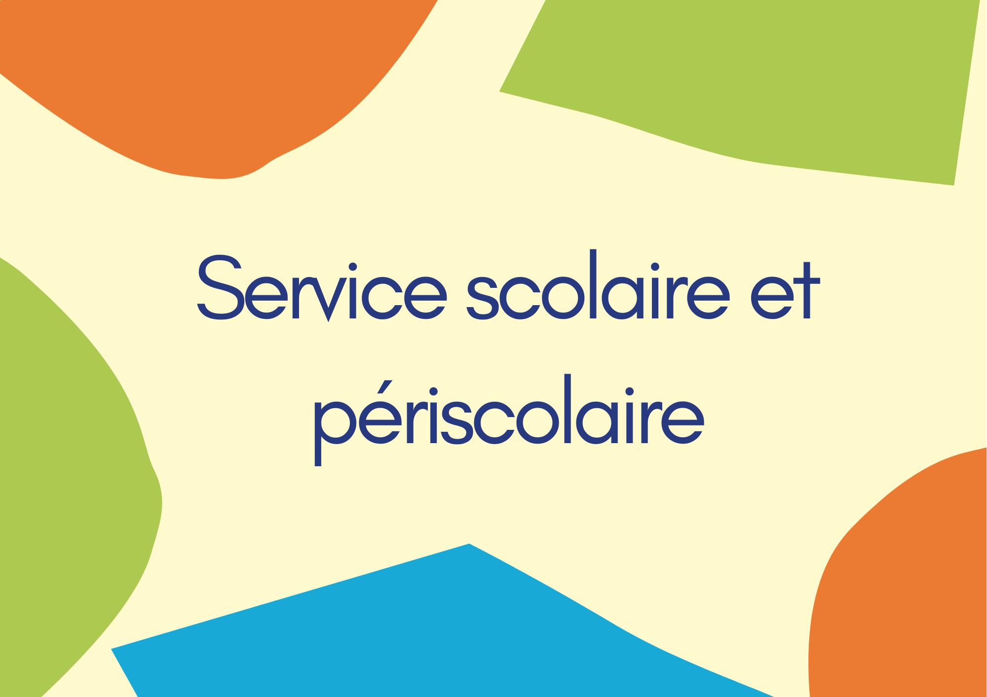 Services périscolaires