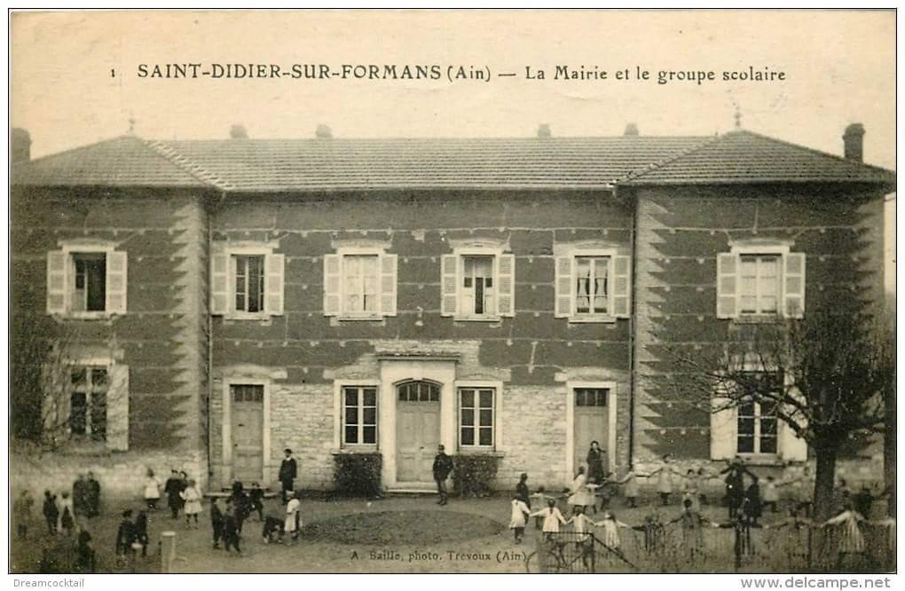 Ecole autrefois