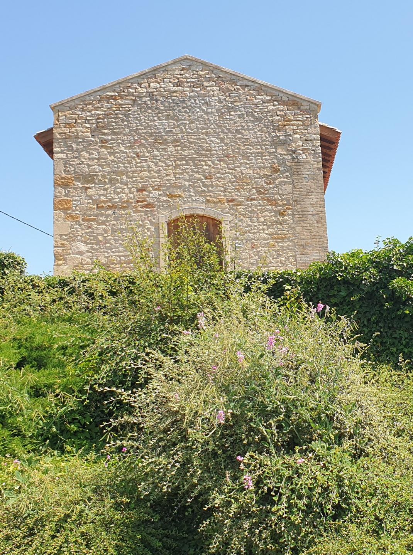 Chapelle couverte vue Ouest