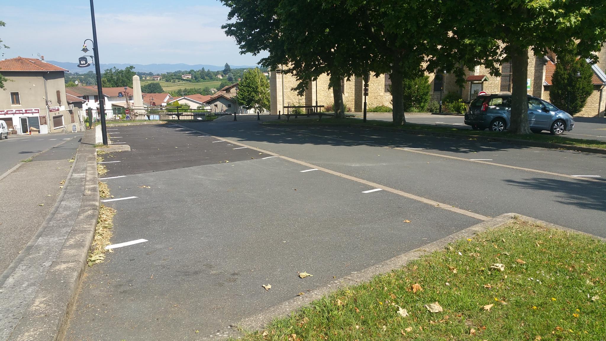 Extension parking salle des fêtes