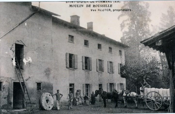 Moulin de Roussille