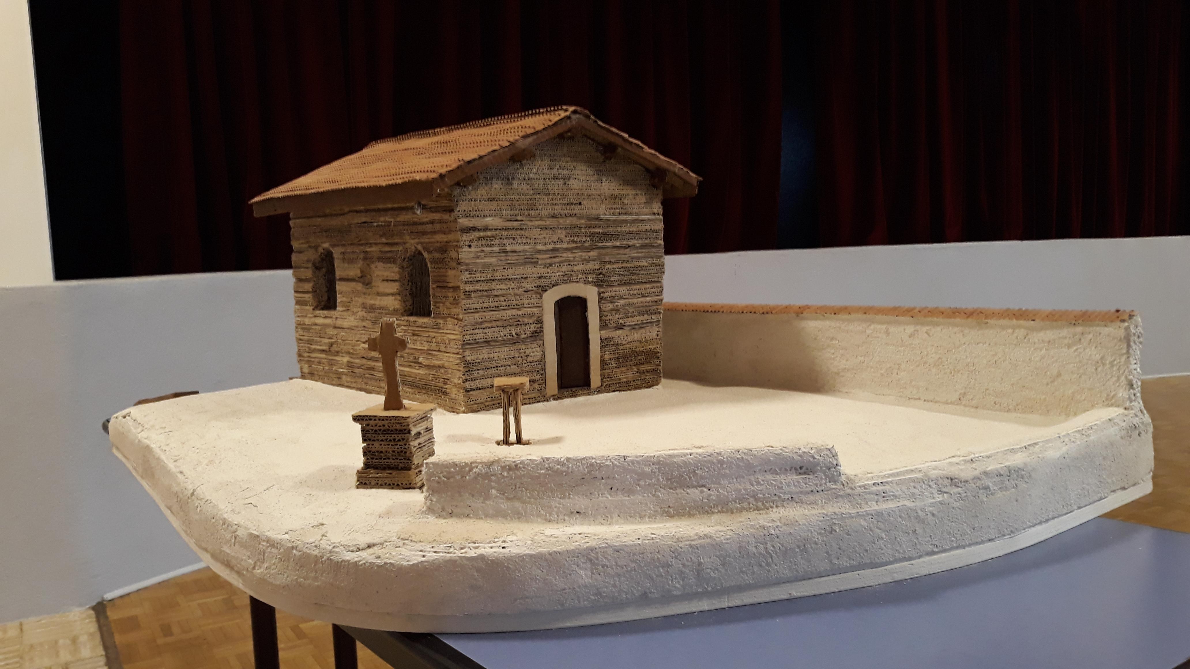 maquette chapelle par bénévole