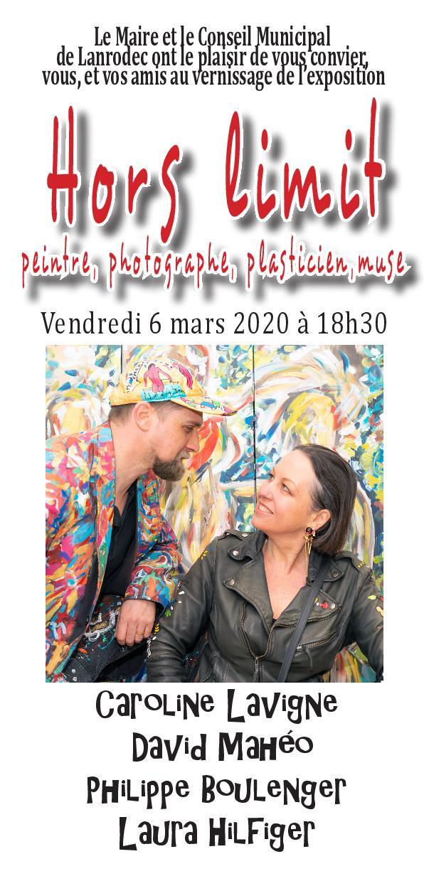 Invitation Lavigne, Mahéo, Boulenger, Hilfiger mars 2020
