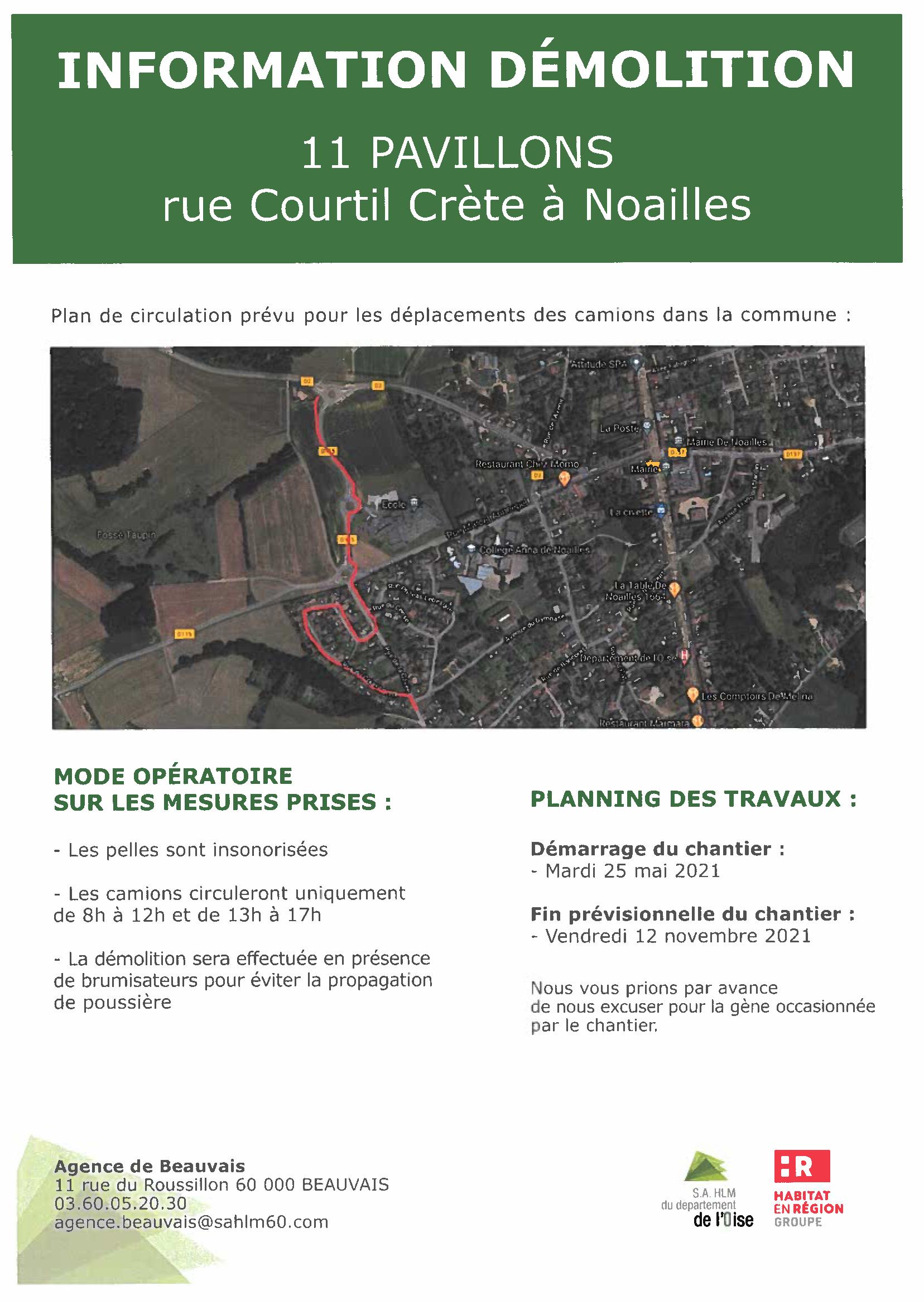 Travaux démolition rue du Courtil Crête affiche.png