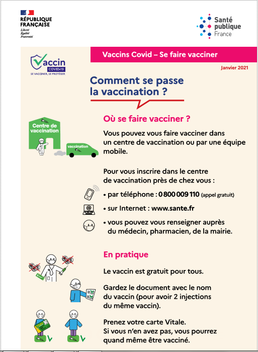 Coronavirus - Flyer accessible - Se Faire Vacciner - 080221.PNG