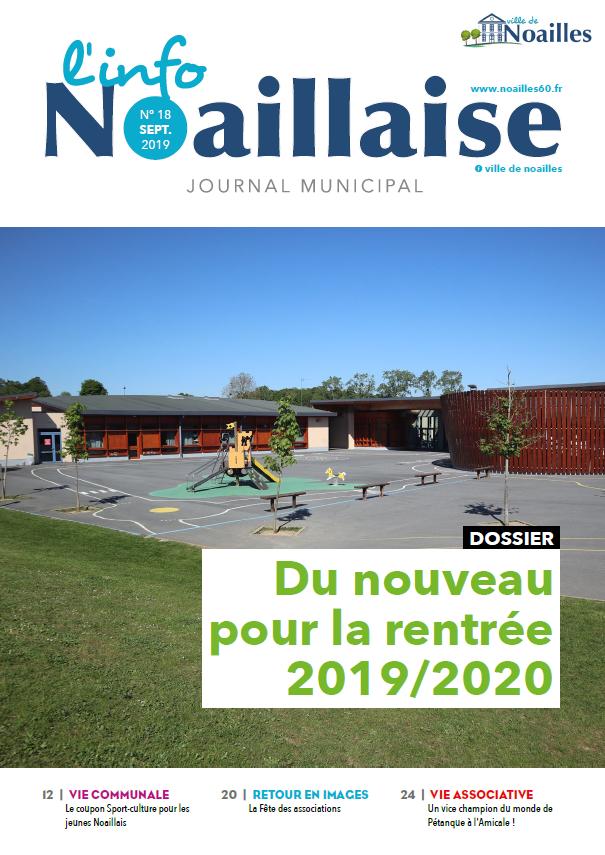 Info Noaillaise septembre 2019