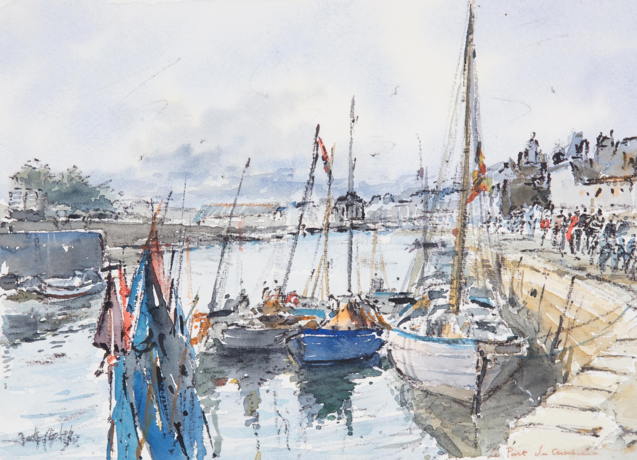 Jack Cholet - Le port du Croisic.jpg