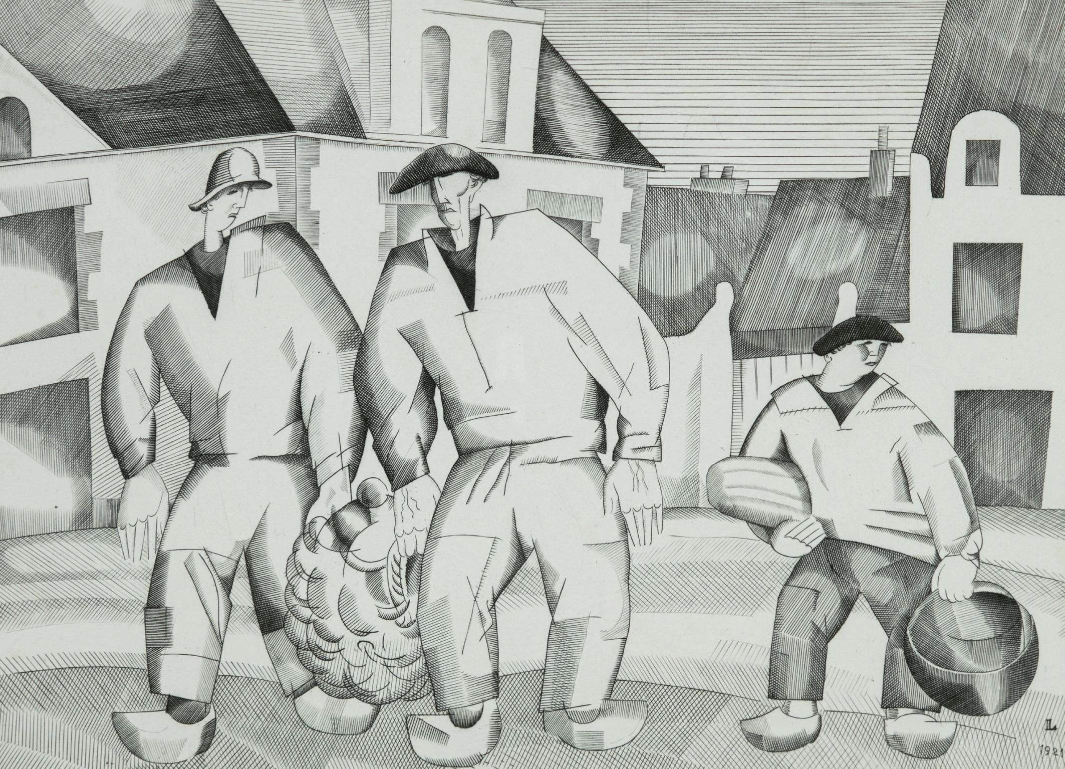 JE Laboureur - Les trois marins.jpg