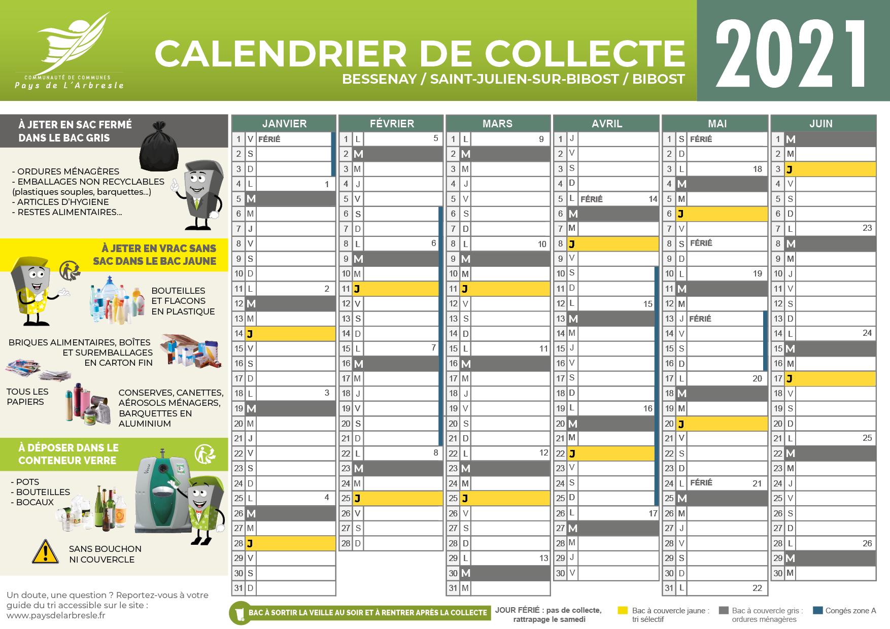 calendrier collect 2021 - BESSENAY - SAINT JULIEN SUR BIBOST - BIBOST.png