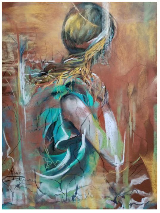 La Dame de Montard par Marie Dubernard.JPG