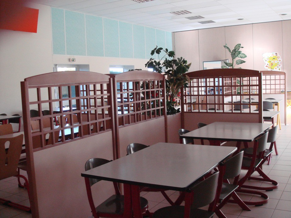 Salle restaurant paysage