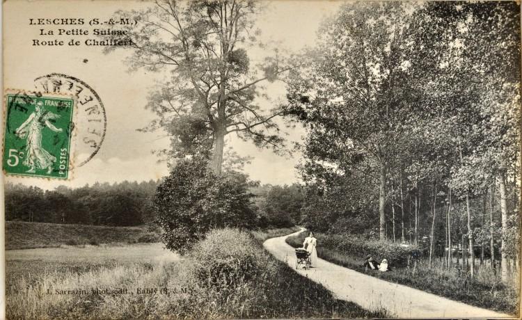 Lesches - Route de Chalifert