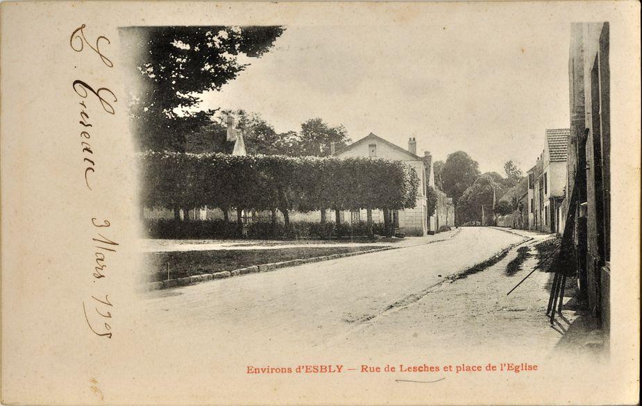 Lesches - Rue Charles de Gaulle