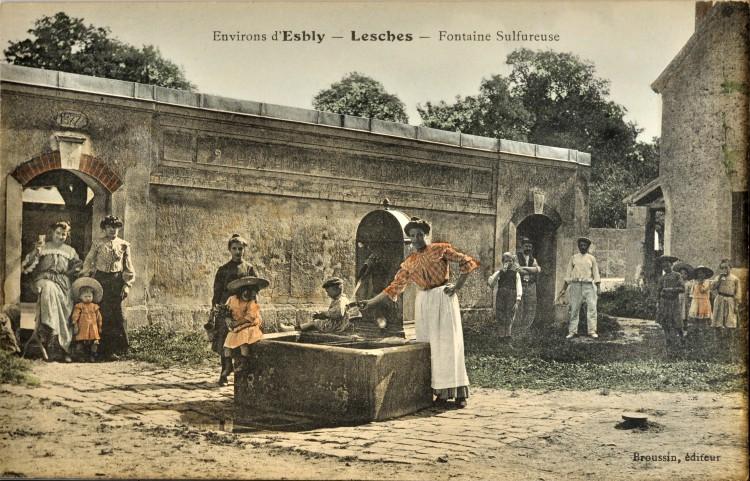 Lesches - Fontaine & Lavoir