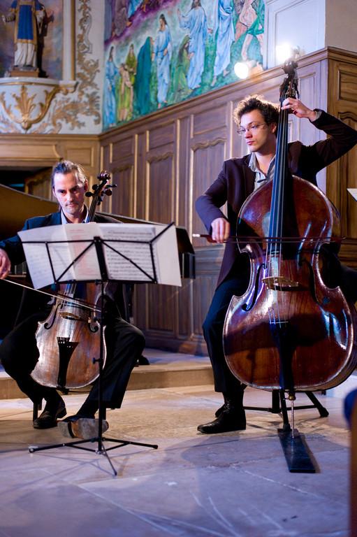 Concert dans l'église