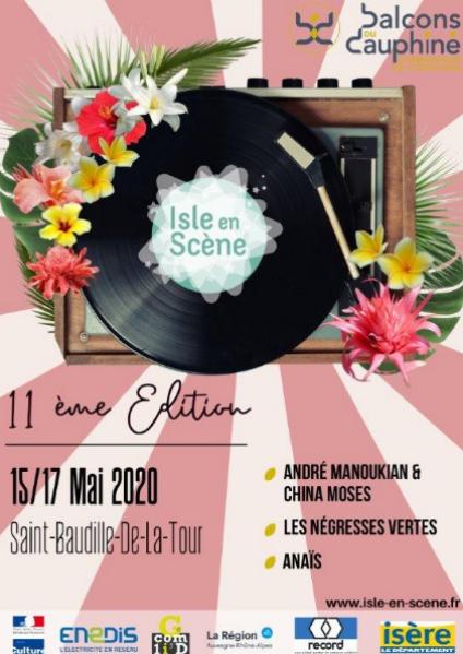 FESTIVAL ISLE EN SCENE 2020 (15/05/2020                                 -                                 17/05/2020)