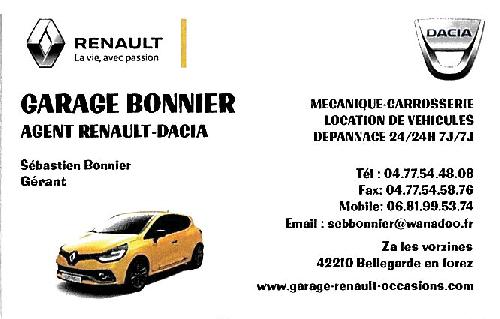 GARAGE BONNIER