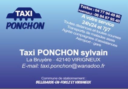 PONCHON taxi