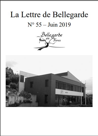 LETTRE 55 JUIN 2019