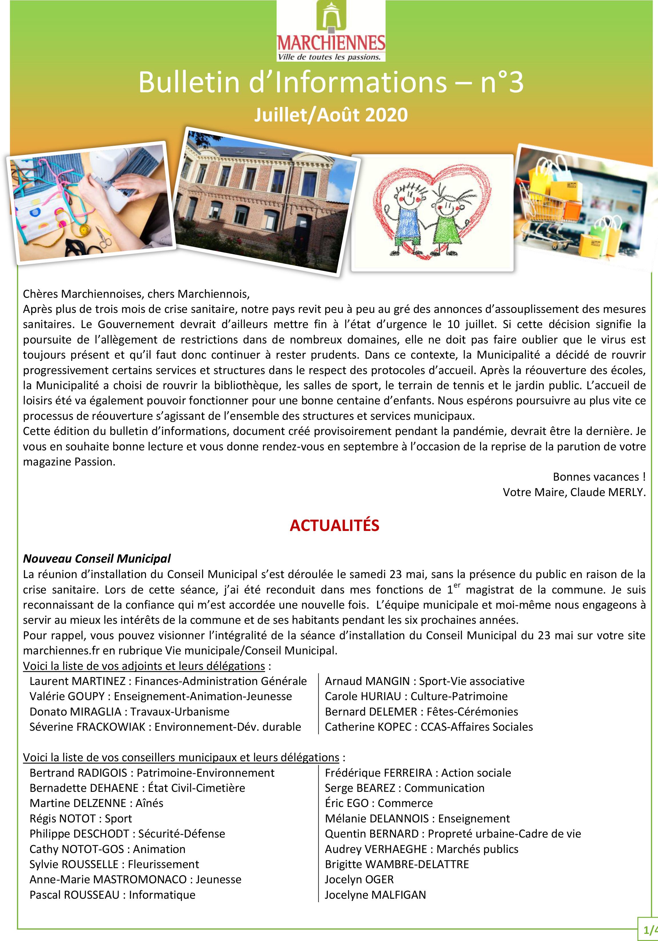 couv bulletin d'info n°3