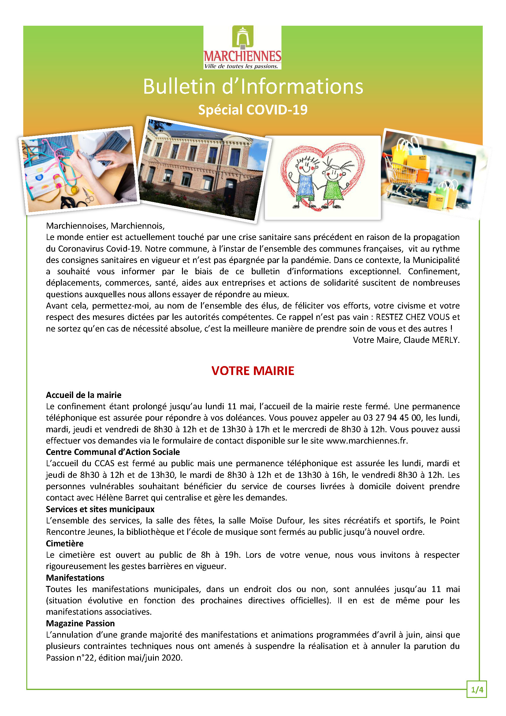 couv bulletin d'info n°1