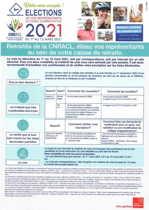 Elections représentants conseil admin  - Retraité - 2021.PNG