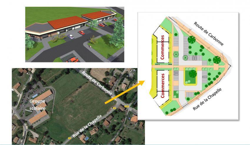Zone activités - Plan