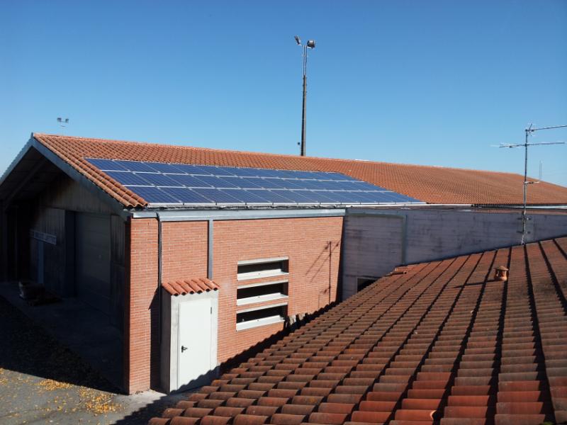 Batiment Photovoltaique 2