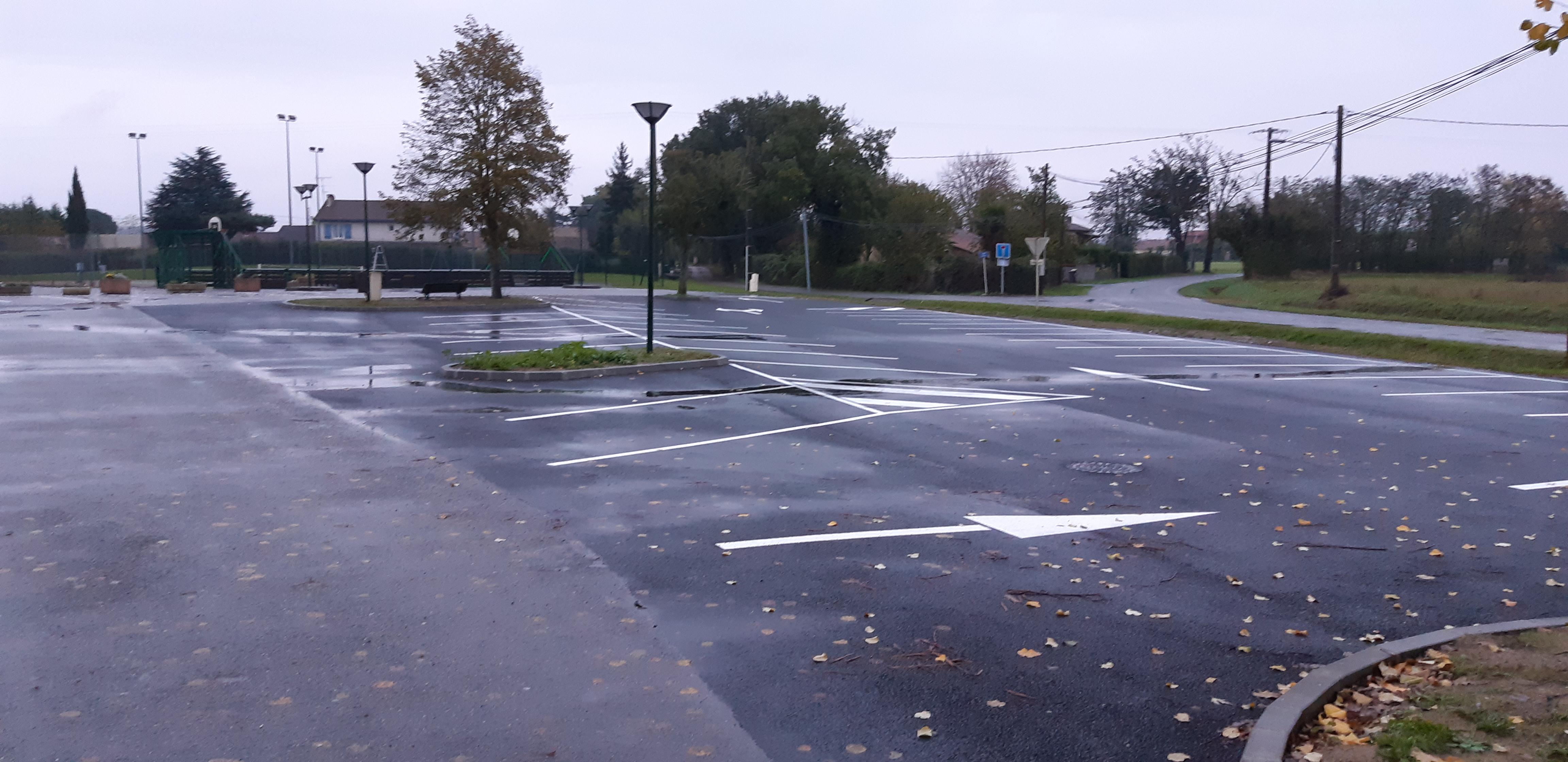 Voirie Parking salle des fetes 1
