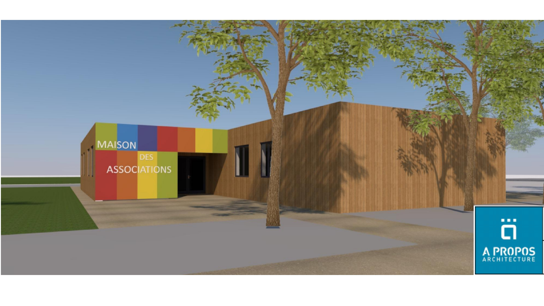 Plan Maison des associations