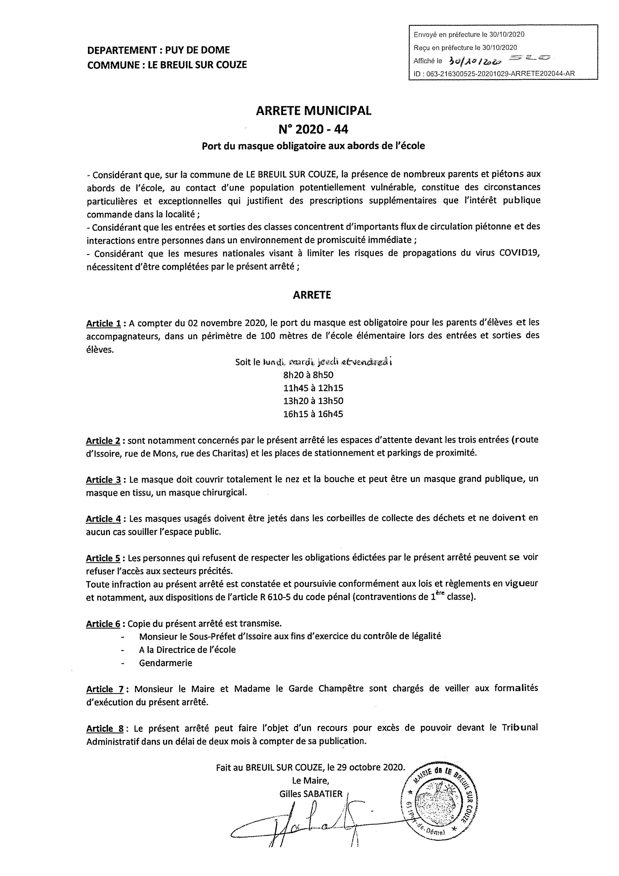 arrete 2020 44 port du masque obligatoire aux abords de l-ecole _1_.jpg