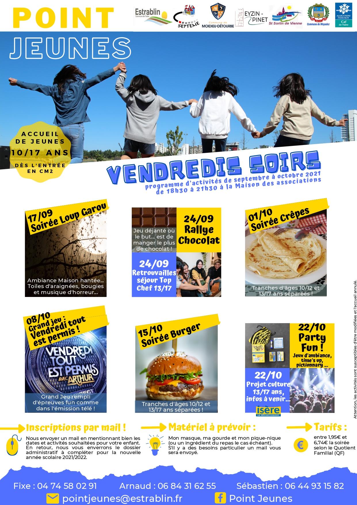 2021 - 09 - 14 VENDREDI SEPTEMBRE OCTOBRE PJ