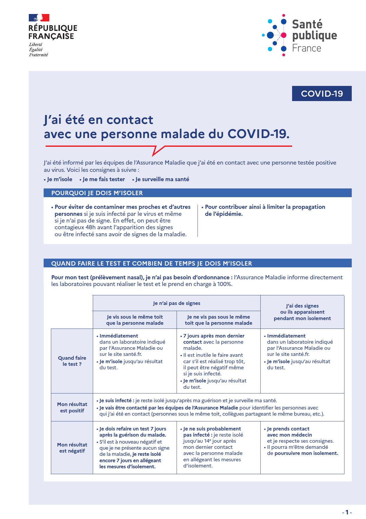 J_ai été en contact avec une personne malade de la COVID19 santé publique France.png