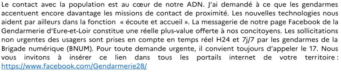 Numéro urgence MOT du colonnel commandant le regroupemt de gendarmerie d_E-_-L.JPG