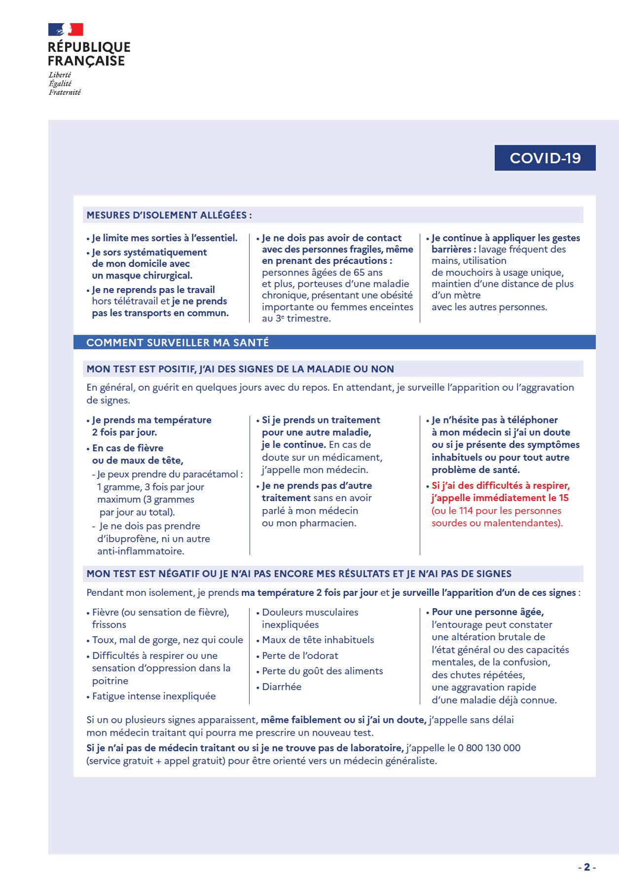 J_ai été en contact avec une personne malade de la COVID19 santé publique France p2.png