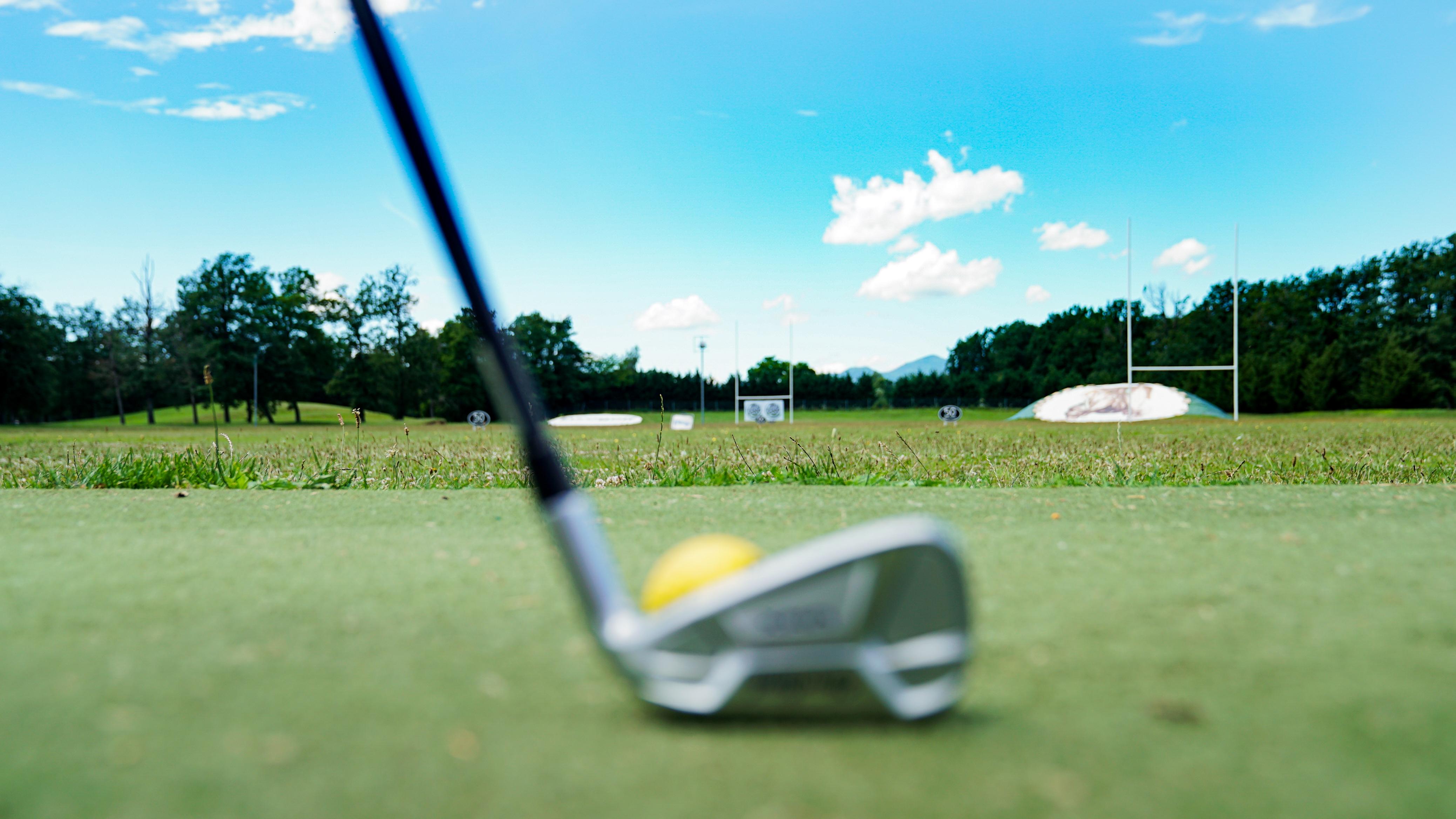 Golf des bouleaux club + balle