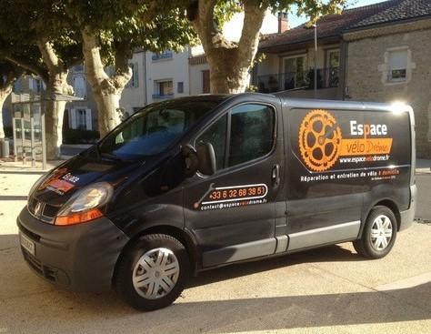 Espace Vélo Drome camion