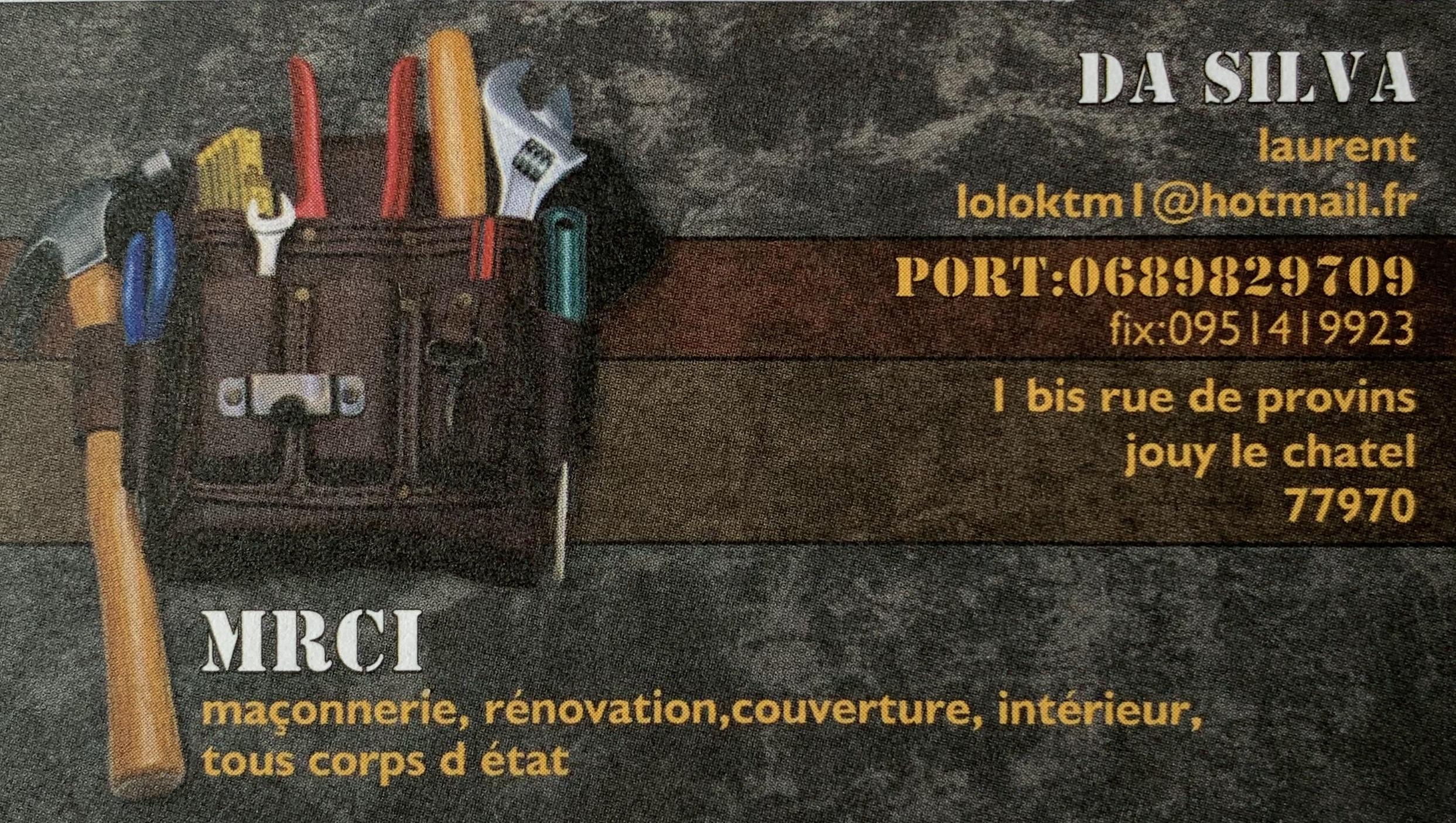 Carte MRC Da silva