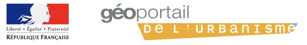 PLU Logo geoportail de l'urbanisme