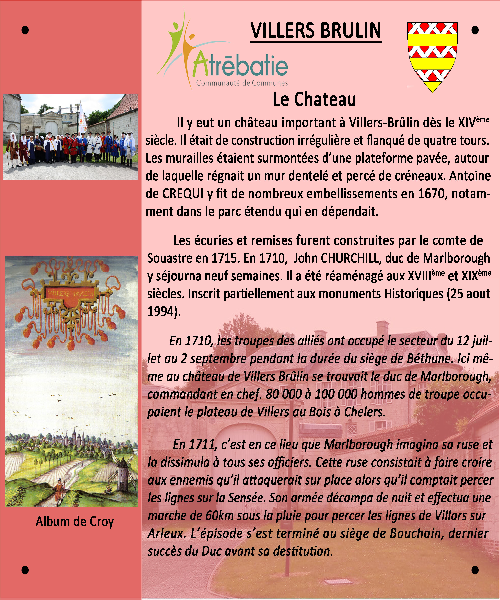 Malbrough le chateau