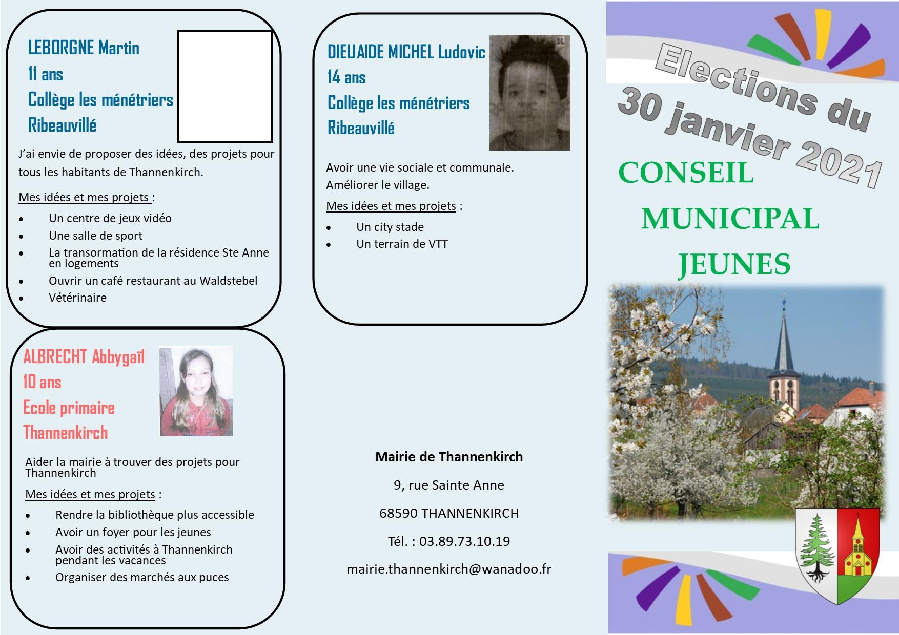 Flyer candidatures CMJ