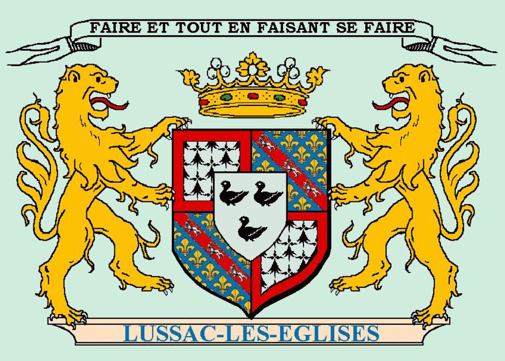 Commune de Lussac-les-Églises